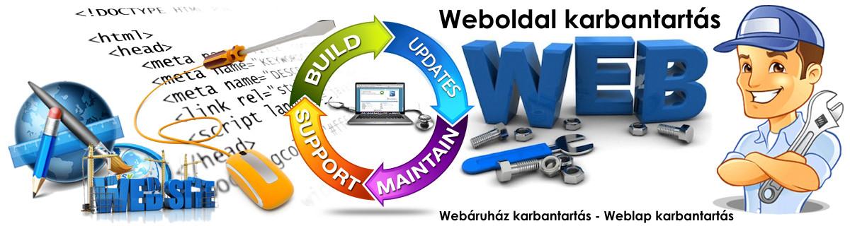 d092ea7239b4 Honlap karbantartás - Weboldal karbantartás
